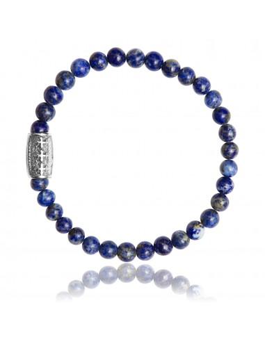 Bracelet 6 mm Lapiz Lazuli