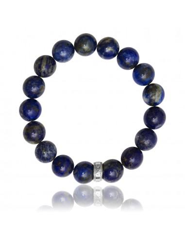 Bracelet 12 mm Lapiz Lazuli