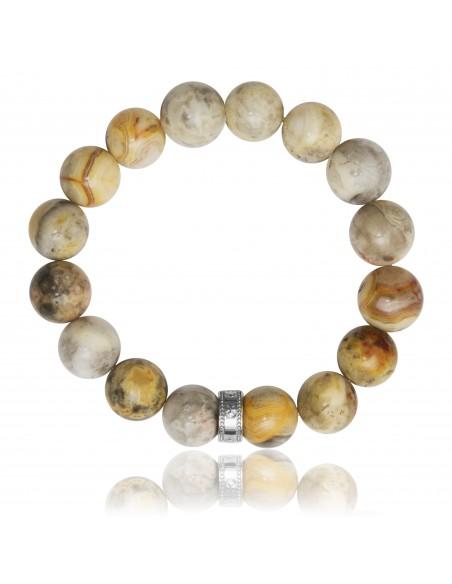 Bracelet 12 mm Crazy Stone