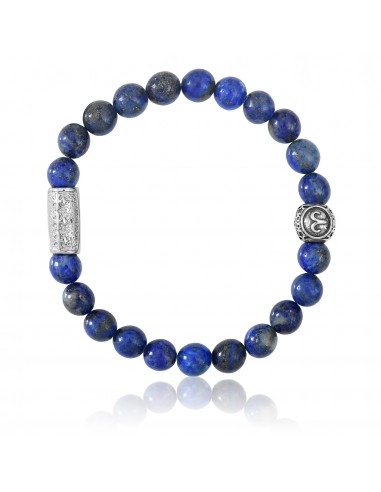 Bracelet Lapis Lazuli / signe taureau / 8mm