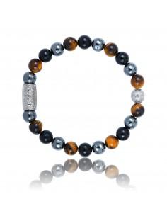Bracelet Agate noire /...