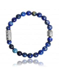 Bracelet Lapis Lazuli et Bouddha